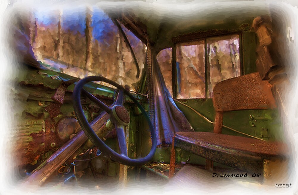 Old wore out bus by ezcat