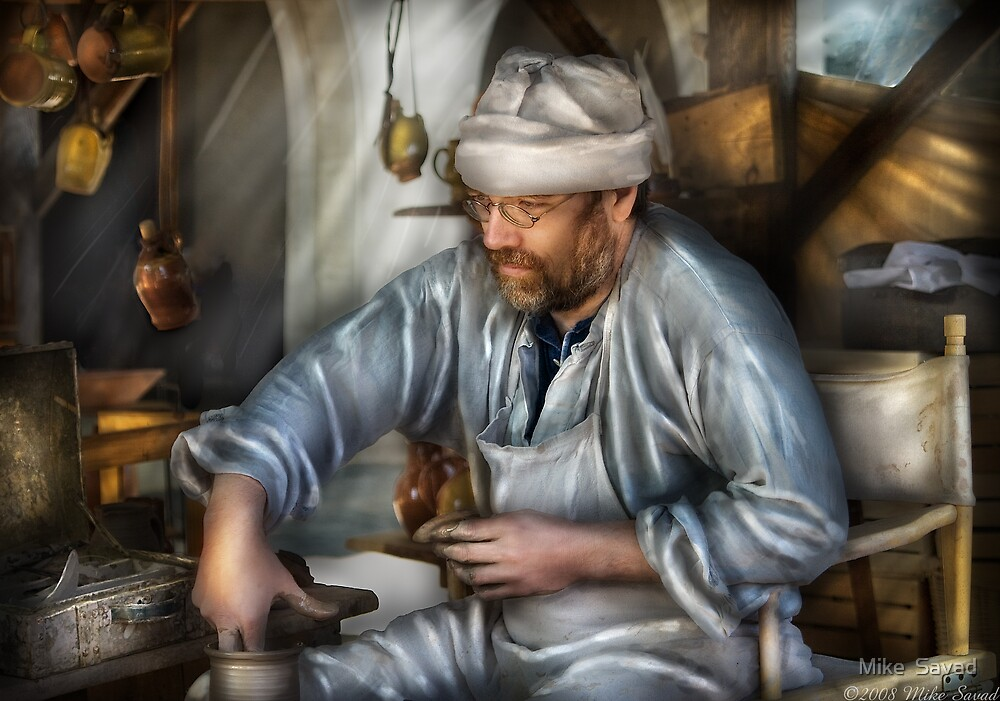 The Potter by Michael Savad