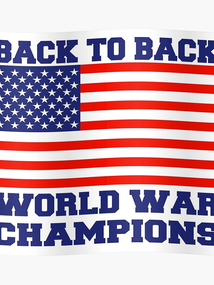 ce031c23eede Back To Back World War Champions