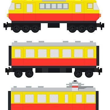 Vintage 80's LEGO Train 7740 by jimivandebeek