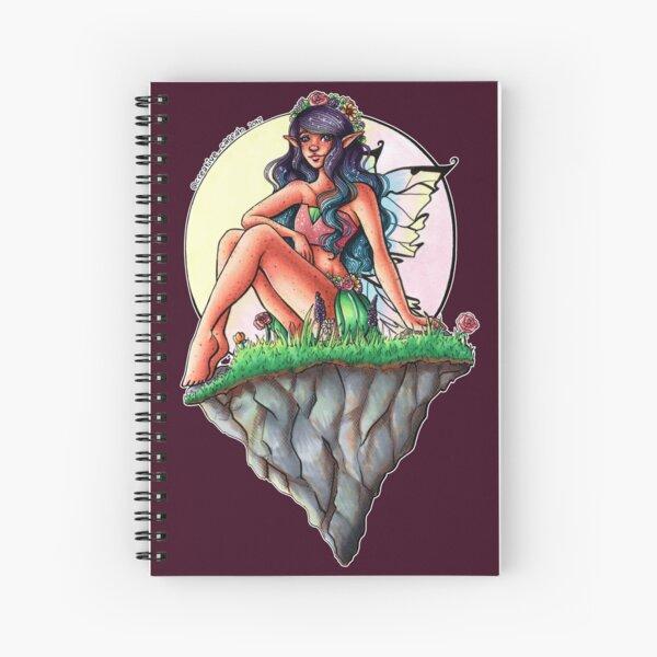 Graceful Fairy Spiral Notebook