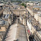 Bath from the Roof of the Abbey by Carolyn Eaton