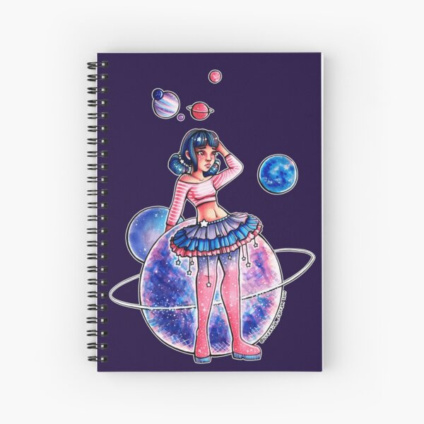 Space Girl Spiral Notebook