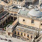 The Roman Baths in Bath by Carolyn Eaton