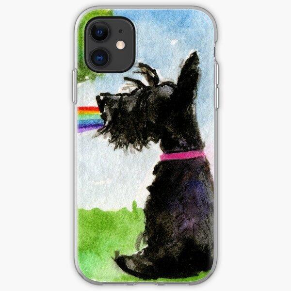 Scottie Dog 'Rainbow' iPhone Soft Case