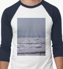 Mackinac Bridge  Men's Baseball ¾ T-Shirt