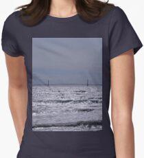 Mackinac Bridge  Women's Fitted T-Shirt