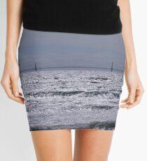 Mackinac Bridge  Mini Skirt