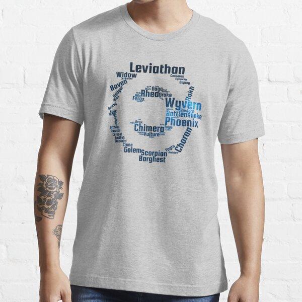 Caldari WordCloud Essential T-Shirt