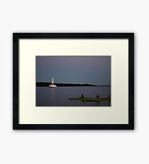 Sunset Views from Mackinac Island Framed Print