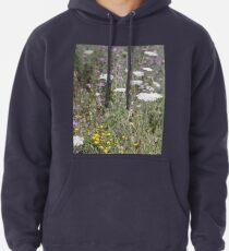 Mackinac Island Wildflowers Pullover Hoodie
