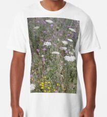 Mackinac Island Wildflowers Long T-Shirt