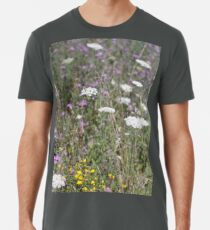 Mackinac Island Wildflowers Men's Premium T-Shirt