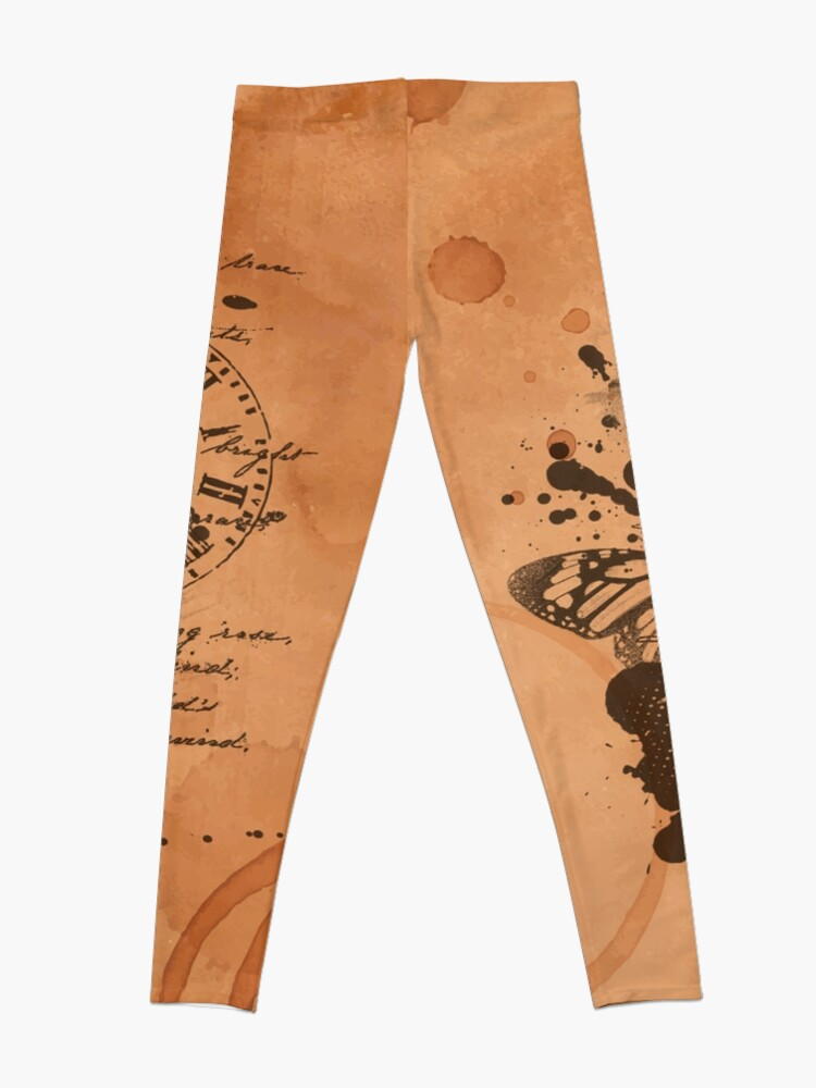 Vista alternativa de Leggings We live and breathe words