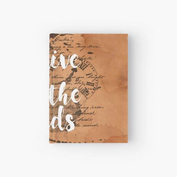 We live and breathe words Cuaderno de tapa dura