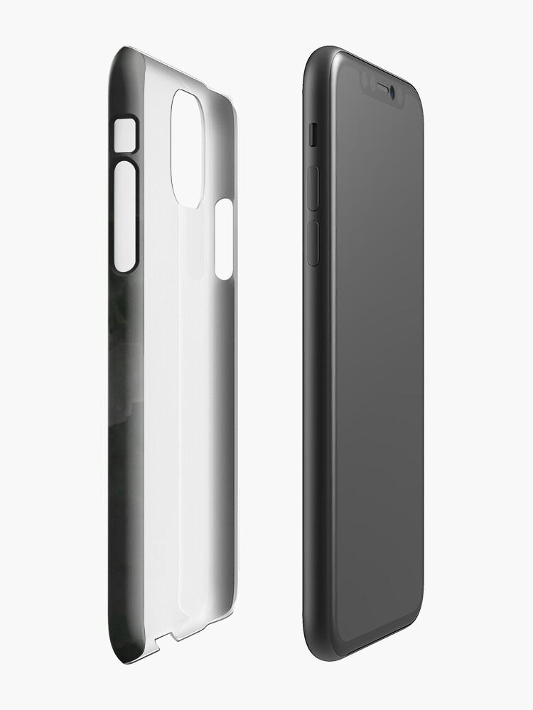 Alternative Ansicht von Grey Concrete #grey #minimal #design #kirovair #decor #buyart iPhone-Hülle & Cover