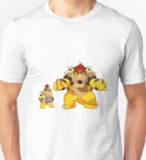 Bower and Bowser Jr. Unisex T-Shirt