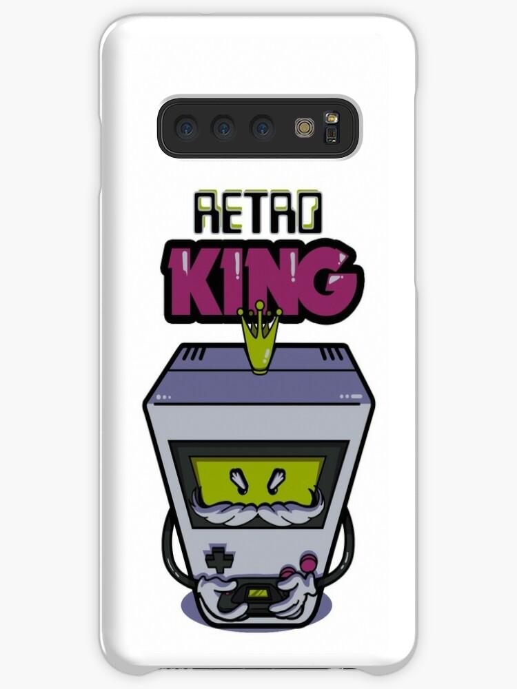 'Retro King | Retro gamer console' Case/Skin for Samsung Galaxy by sceron