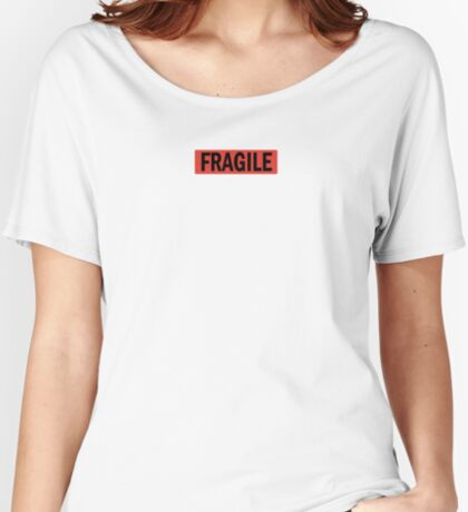 Fragile Women's Relaxed Fit T-Shirt