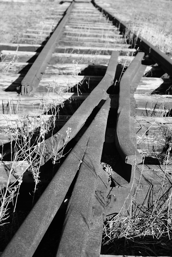 Railway Tracks by Cyril S. Shugarue Jr.