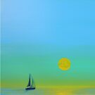 Sail Away by LindaZArtist