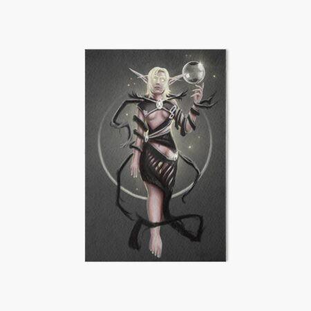 Elven Prophet Art Board Print