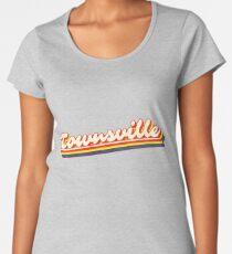 Townsville, QLD | Retro Rainbow Women's Premium T-Shirt