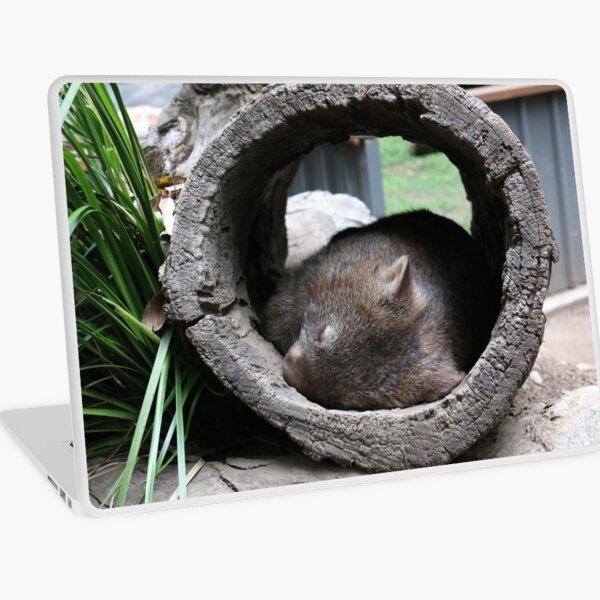 Sleepy Wombat Australia Laptop Skin
