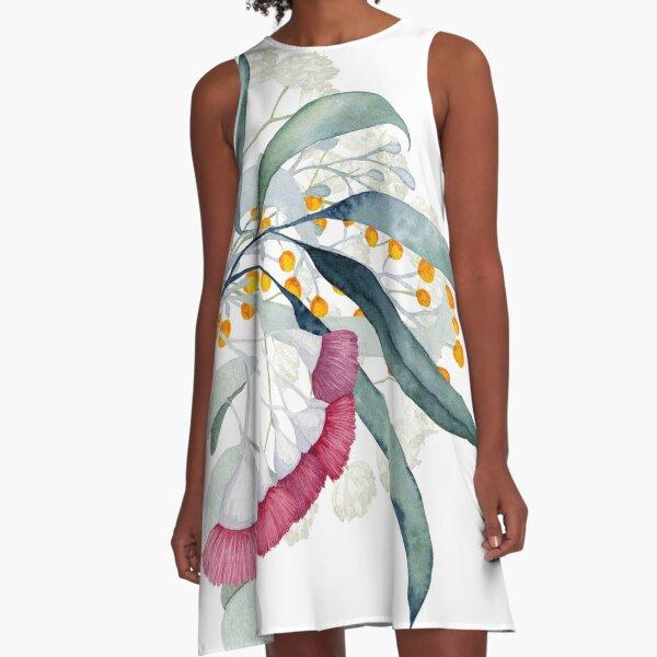 Aussie Gumtree Beauties A-Line Dress