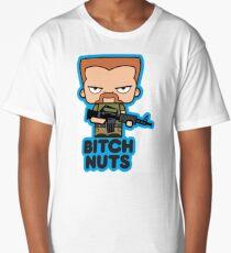 WALKING DEAD ABRAHAM BITCH NUTS Long T-Shirt