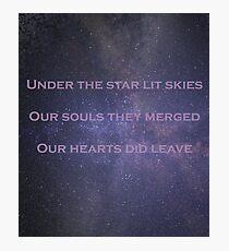 Starry Skies V1 Photographic Print