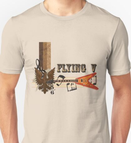 Vintage Flying V  T-Shirt