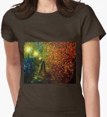 Lady Autumn Womens Fitted T-Shirt