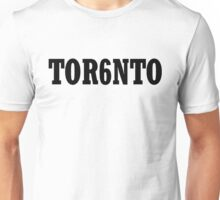 TOR6NTO [Black] Unisex T-Shirt