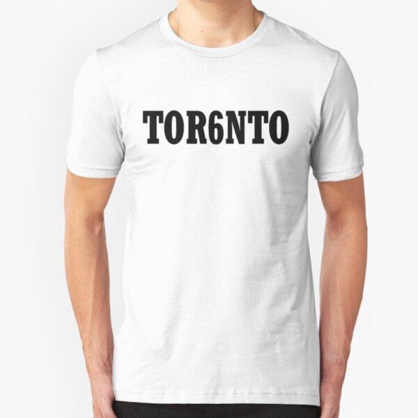 TOR6NTO [Black] Slim Fit T-Shirt