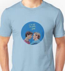 Ruf mich mit deinem Namen an Unisex T-Shirt