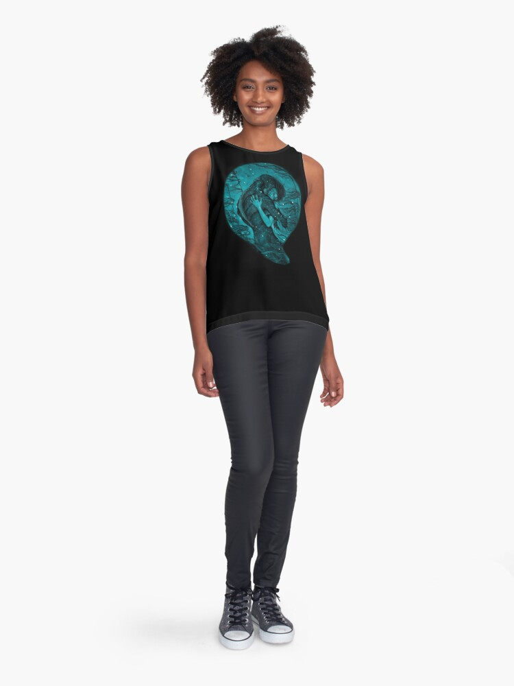 Alternate view of The Shape of Water Sleeveless Top