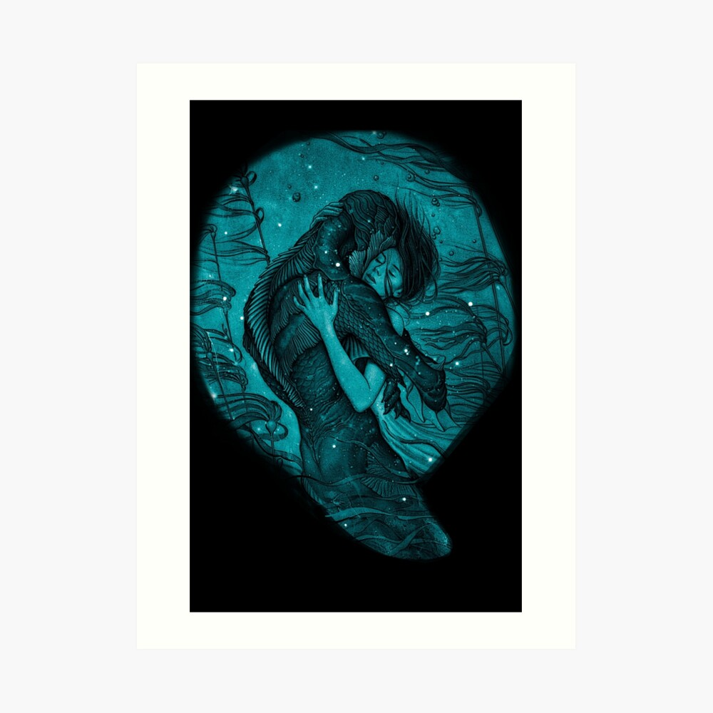 The Shape of Water Art Print