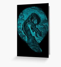 The Shape of Water Greeting Card