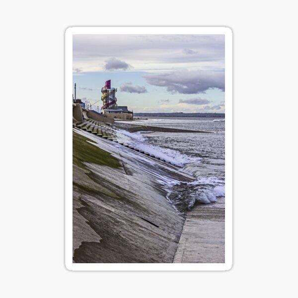 Redcar sea front Sticker