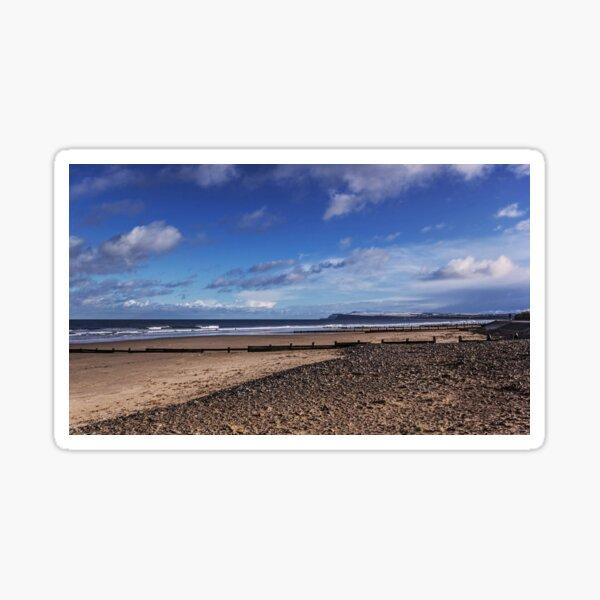Redcar Beach Sticker