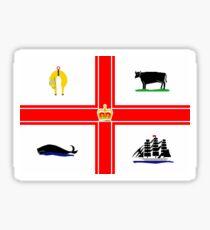 Flag of Melbourne, Australia Sticker