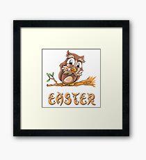 Easter Owl Framed Print