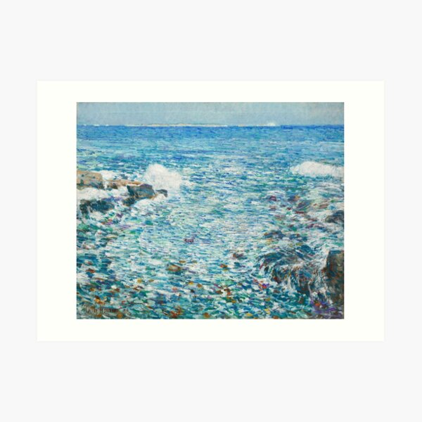 Surf, Isles of Shoals by Childe Hassam, 1913 Art Print