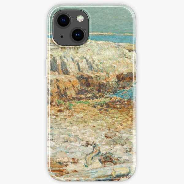 A North East Headland 1901 by Childe Hassam iPhone Soft Case
