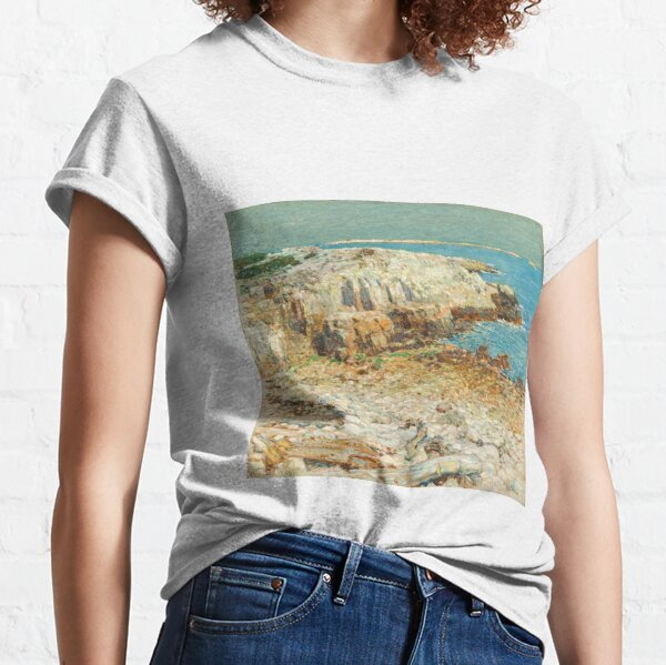 A North East Headland 1901 by Childe Hassam Classic T-Shirt