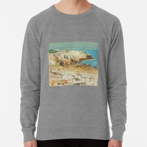 A North East Headland 1901 by Childe Hassam Lightweight Sweatshirt