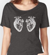 Two Hearts - Doctor Who - White Women's Relaxed Fit T-Shirt