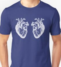Two Hearts - Doctor Who - White Unisex T-Shirt
