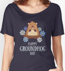 Happy Groundhog Day Women's Relaxed Fit T-Shirt
